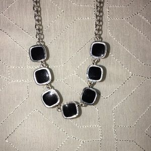Jewelry - Cute silver and black necklace